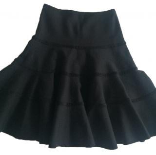 Alaia black skirt