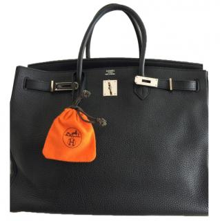 Hermes black Birkin bag