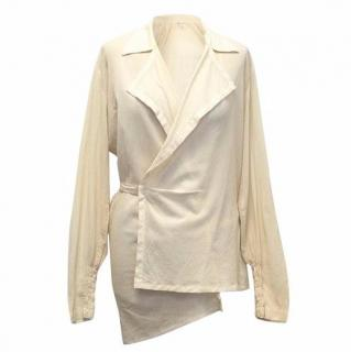 Dries Van Noten Cream Blouse