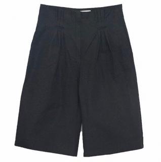 Lanvin Black Three-Quarter Length Shorts