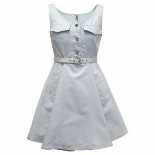 Miu Miu Blue Skater Dress