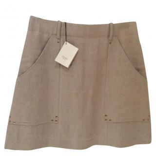 Celine Linen Skirt Size 38