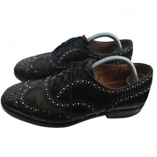 Church's Men's Studded Lace Up Shoes Sz 43
