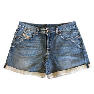 Diesel 5-pocket jogjeans shorts