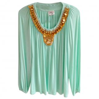Milly Embellished Top