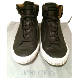 Jimmy Choo Black High Tops
