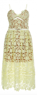 Self portrait Azaelea Yellow Dress