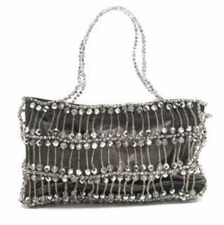 Daniel Swarovski Silver Swarosvki Crystal Bag
