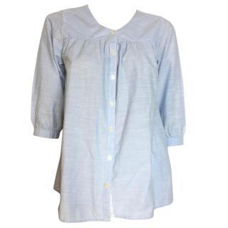 Maison Scotch light blue blouse