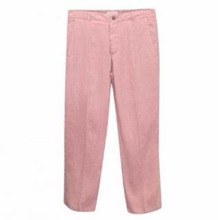 Etro Men's Pink Cotton Trousers