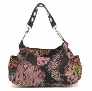 Matthew Williamson Floral Handbag with Small Clutch