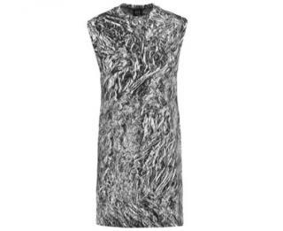 McQ print stretch dress