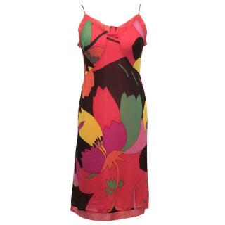 Paul Smith Blue, Multi Colour Pattern Dress