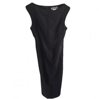 Sportmax Black fitted dress