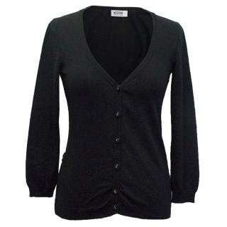 Moschino black cardigan