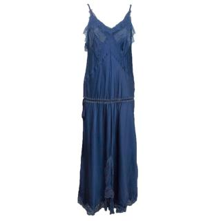 Jean Paul Gaultier blue dress