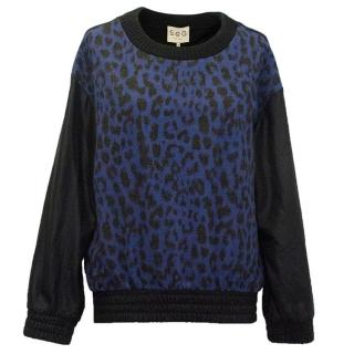 Sea New York Blue Jumper
