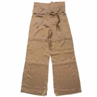 Amanda Wakeley Gold Trousers