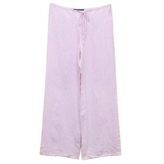 Amanda Wakeley lilac trousers