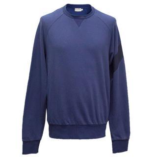 Moncler blue sweatshirt