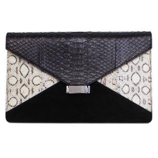 Celine Python Diamond Clutch Bag
