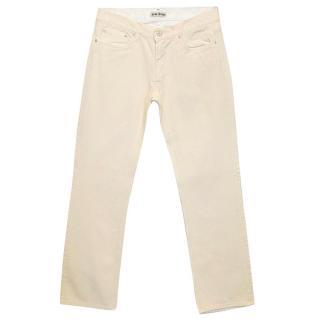 Acne cream jeans