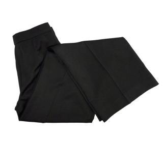 Sportmax Black Wide Leg Trousers