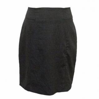 Adam Lippes Charcoal Pencil Skirt