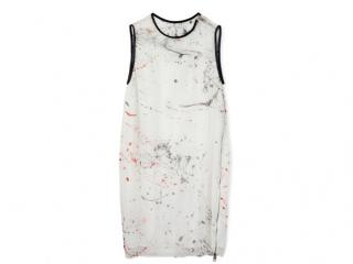 Diesel White Printed Dress