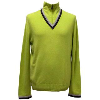 Hermes light green jumper