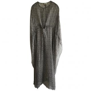 Issa silk kaftan dress size uk 10
