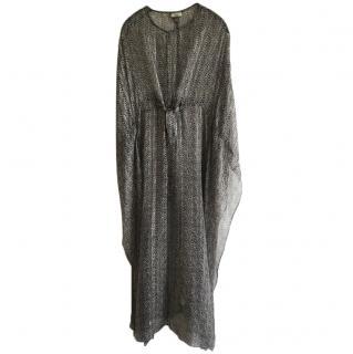 Issa silk kaftan dress size uk 10