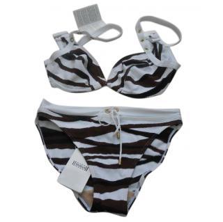 Wolford white tiger bikini