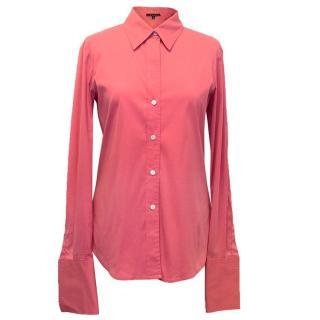 Theory pink shirt