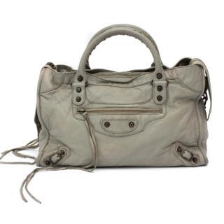 Balenciaga Medium Classic City Bag in Olive Green