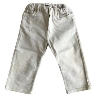 Baby Dior Boys Grey Denim Jeans
