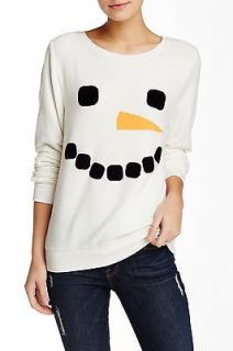 White Fox Frosty Face Baggy Beach Jumper