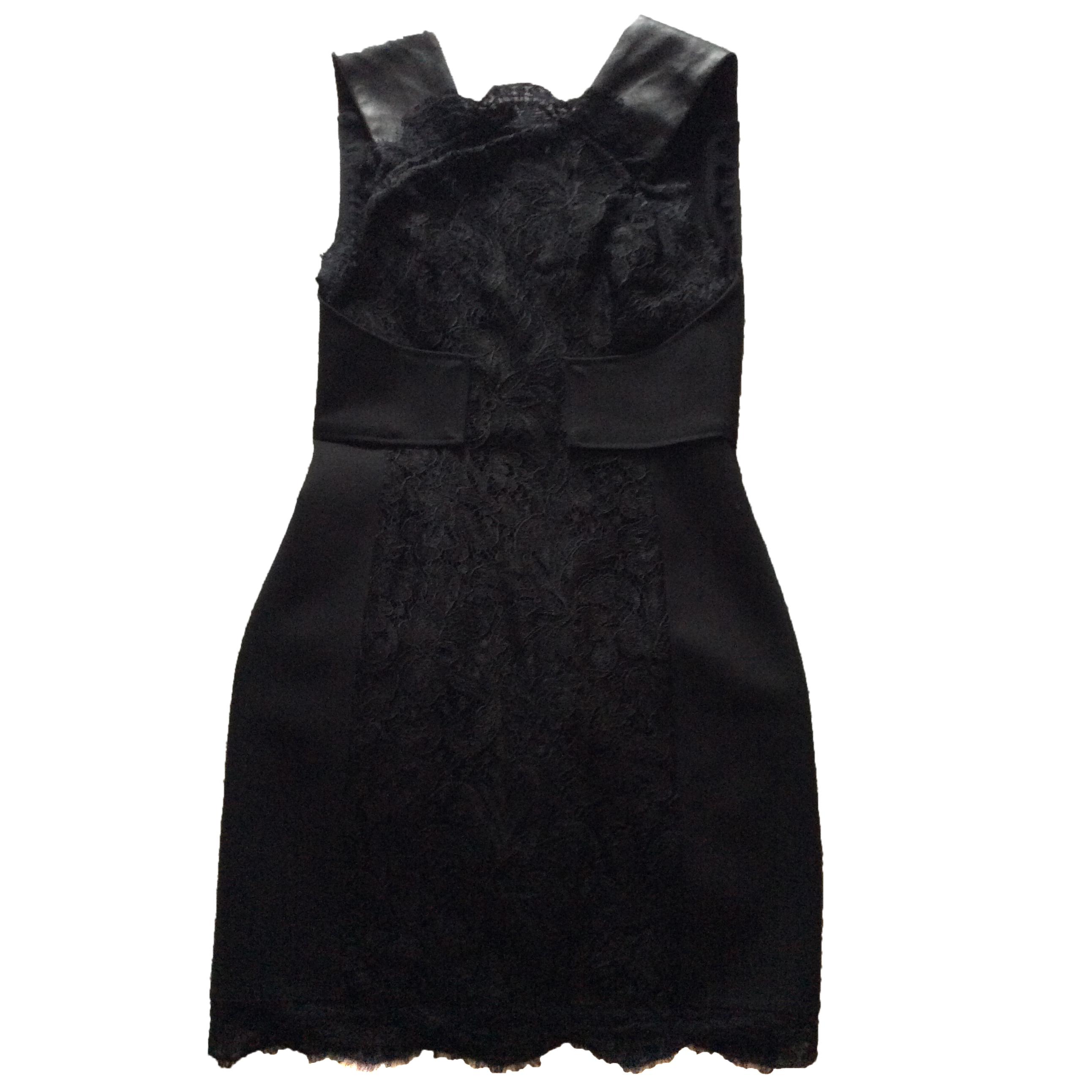 Pucci black lace cocktail dress