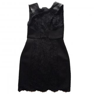 Pucci black lace cocktail dress