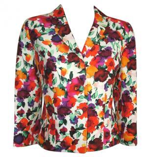 Caroline Charles silk jacket, size 10