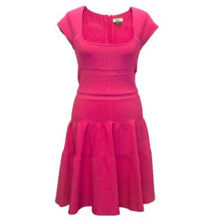 ISSA London pink dress