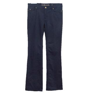 MIH jeans with straight cut boot
