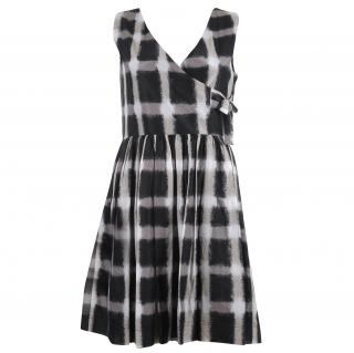 Marc By Marc Jacobs Blurred Gingham Dress