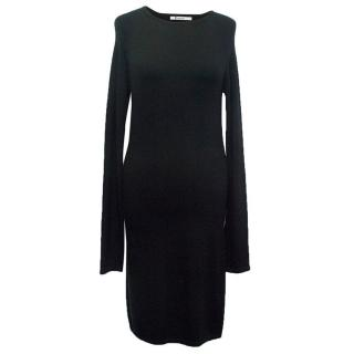 T Alexander Wang black bodycon dress