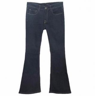 Victoria Beckham Navy Bootcut Jeans