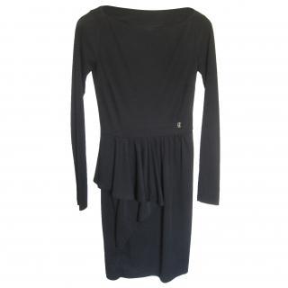 Galliano black dress