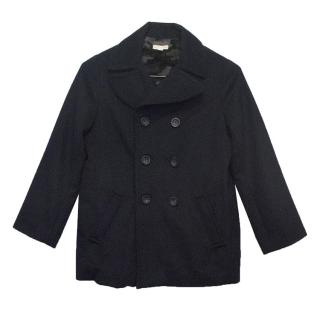 TALC Kids Navy Jacket with Faux Fur Lining