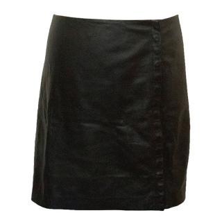 Diane Von Furstenberg Leather Skirt