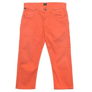 Citizens of Humanity Orange Jeans