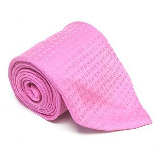 Hermes Silk H Logo Pink Tie